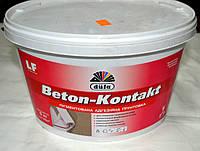 Пигментированная  адгезионная грунтовка Beton – Kontakt  Dufa (5 кг ), фото 1