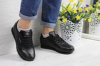 Женские кроссовки  Reebok Classic. Черные. Код товара Д - 4257