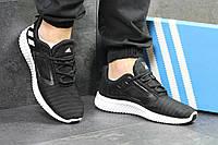 Мужские кроссовки Adidas Cнlimacoo l M. Черные с белым. Код товара: Д - 5329