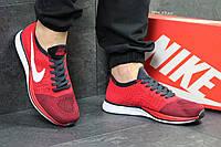 Мужские кроссовки Nike Flyknit Racer. Темно серые Код товара: Д - 5350