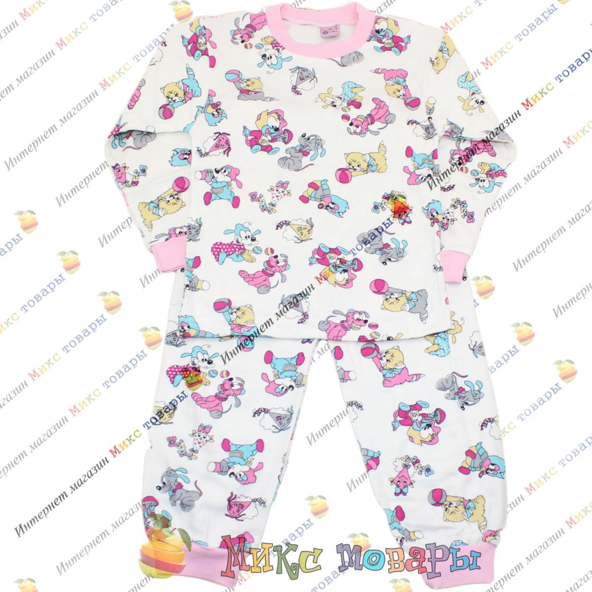 Турецкие пижамы для девочек от 5 до 8 лет Интерлок (3705-2)