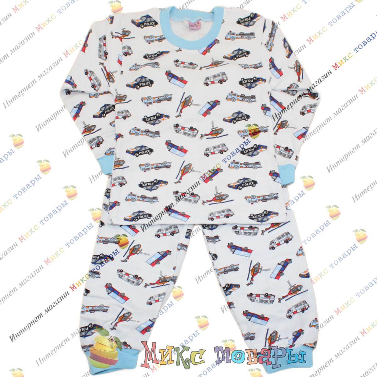 Пижамы Интерлок для детей от 5 до 8 лет пр- во Турция (3705-1)