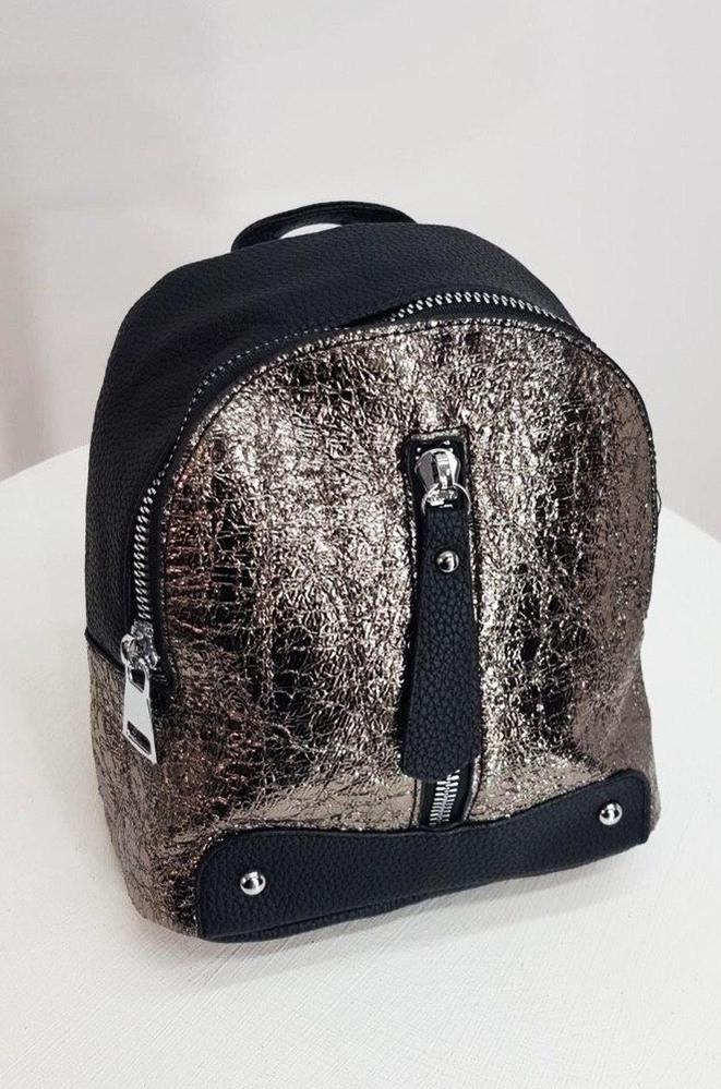 Рюкзак женский бронза 21 х 18 х 9 см 18220