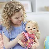 Baby Alive Интерактивная кукла пупс Малышка у врача блондинка C0957 Sweet Tears Baby Doll Blonde, фото 4