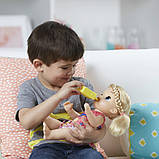 Baby Alive Интерактивная кукла пупс Малышка у врача блондинка C0957 Sweet Tears Baby Doll Blonde, фото 5