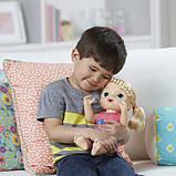 Baby Alive Интерактивная кукла пупс Малышка у врача блондинка C0957 Sweet Tears Baby Doll Blonde, фото 3