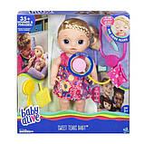 Baby Alive Интерактивная кукла пупс Малышка у врача блондинка C0957 Sweet Tears Baby Doll Blonde, фото 2