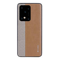 Накладка для Samsung Galaxy G988 S20 Ultra G-Case Earl Series Brown