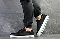 Мужские кроссовки Lacoste, текстиль, черные