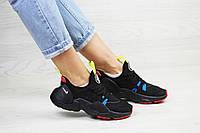 Женские кроссовки Nike Air Huarache E.D.G.E, сетка, пена, черные
