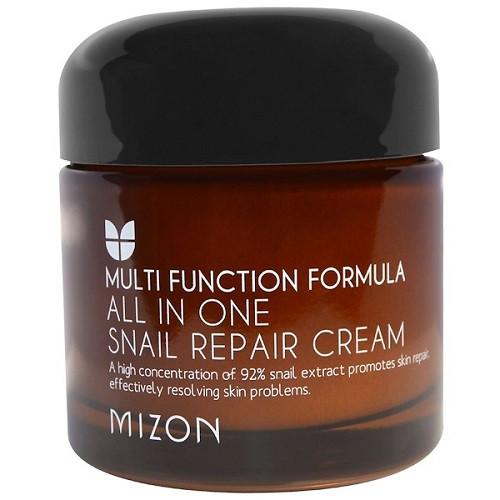 Улиточный крем MIZON Function Formula All In One Snail Repair Cream 75 мл