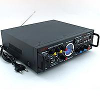 Стерео усилитель мощности звука AV-339BT / Ресивер / Проигрыватель / Тюнер / Аудио усилок для дома