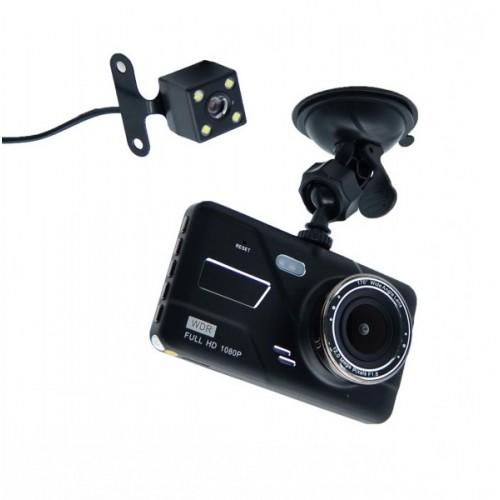 """Видеорегистратор DVR H528 4"""" Full HD с выносной камерой заднего вида+ ПОДАРОК!"""