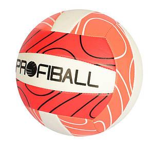 Волейбольний м'яч PROFI EV-3330 ПВХ, 2мм