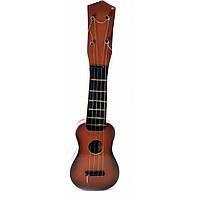 Мини гитара сувенир из дерева  Укулеле