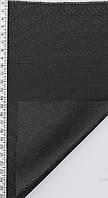 Ткань подкладочная вискоза 100% жаккард плотная 240гр\м шир=1,5м черн уп=20м