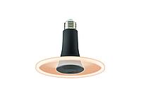 Лампа светильник TOLEDO RADIANCE BLK DIM 650LM 8W) 827 E27 SL 4100К (142mm)