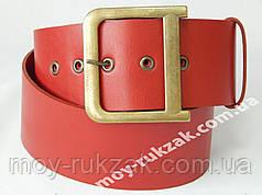 Ремень брендовый женский кожаный, ширина 60 мм. 930160
