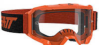 Мото очки LEATT Goggle Velocity 4.5 - Clear 83% [Neon Orange]