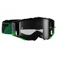 Мото очки LEATT Goggle Velocity 6.5 - Smoke 34% [Black/Green]