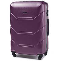 Дорожный чемодан на колесах Wings 60 л (средний) Фиолетовый