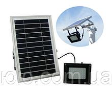 Уличный светодиодный прожектор на солнечной батарее 54 LED