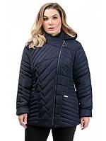 Женская куртка весна осень модная интернет магазин размеры 50-56