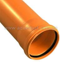 Труба канализационная наружная ЭКОпласт д.110х1м SN1 (2,2)