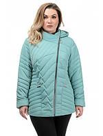 Весенняя куртка женская модная интернет магазин размеры 50-56