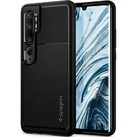 Чехол Spigen для Xiaomi Mi Note 10 Pro / Note 10 Rugged Armor, Black (ACS00603), фото 1