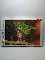 Пазлы Trefl  500шт (37288) 48*34см (Зелений парасолька), фото 1