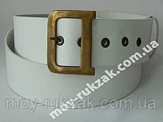 Ремень брендовый женский кожаный, ширина 50 мм. 930165
