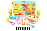 Игровой набор стоматолога для лепки мистер зубастик Play-Doh