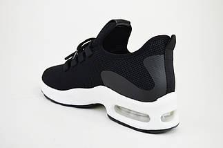 Кроссовки Prima d'Arte 9916 Черные текстиль, фото 2