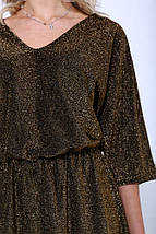 Платье женское 115R346 цвет Золотистый, фото 2