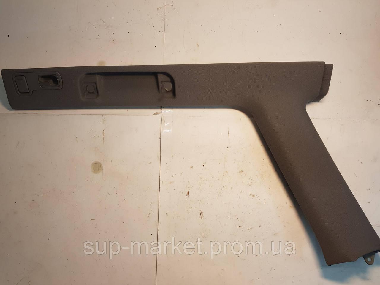 4B9867296H Правая задняя внутренняя обшивка стойки с ручкой ухвата для VAG A6 C5 2.5TDI 1997-2004