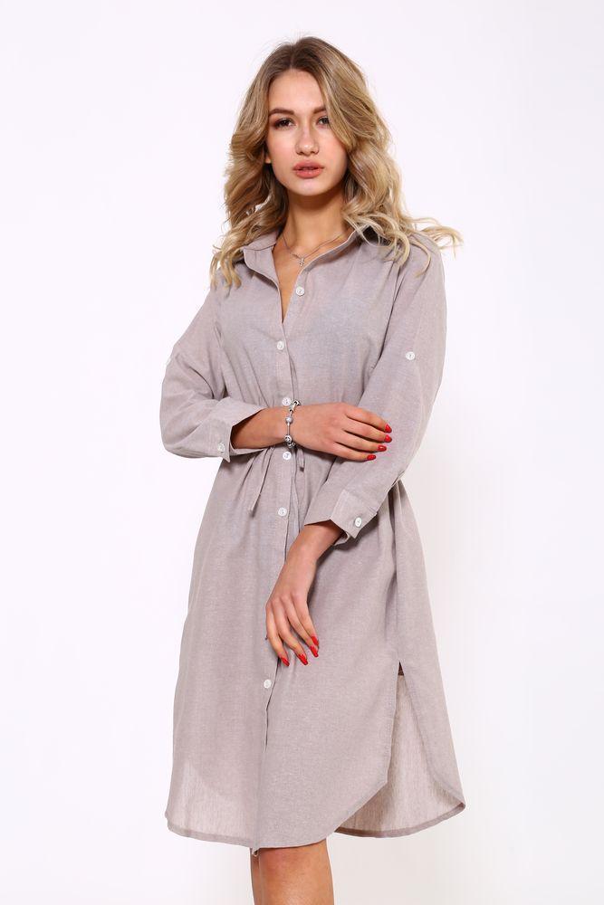 Рубашка-туника 115R290S цвет Мокко