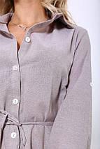 Рубашка-туника 115R290S цвет Мокко, фото 2