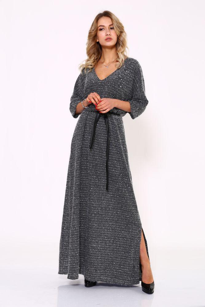Платье женское 115R2150 цвет Серый