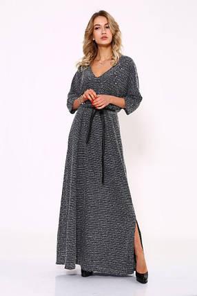 Платье женское 115R2150 цвет Серый, фото 2