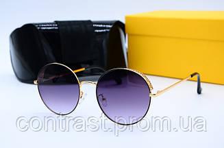Солнцезащитные очки Fendi 2044 зол сер