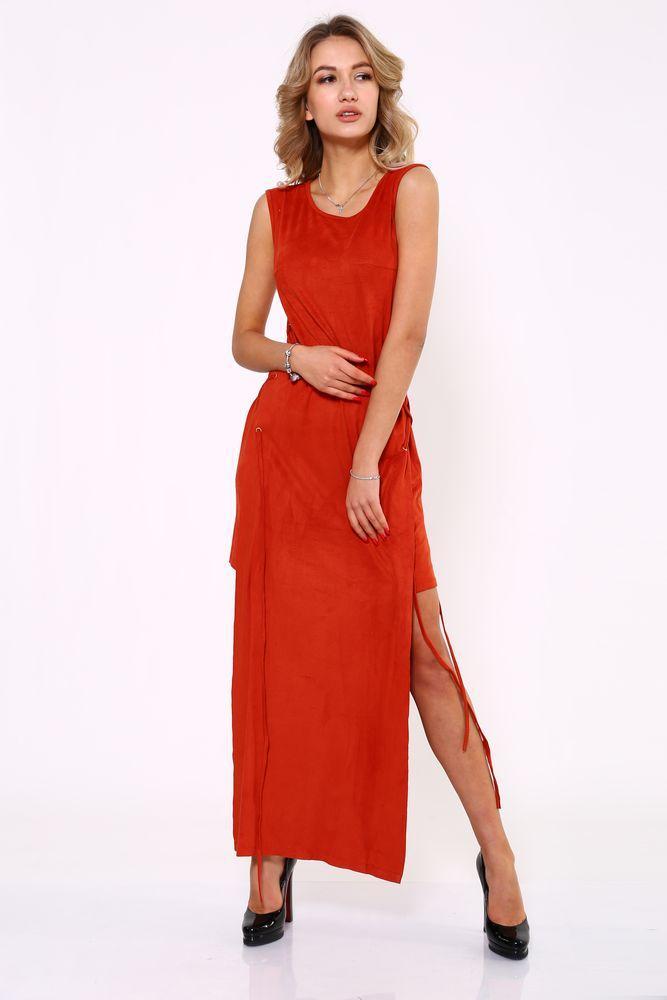 Платье 104R134 цвет Терракотовый