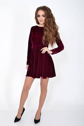 Платье женское 104R1283 цвет Фуксия, фото 2