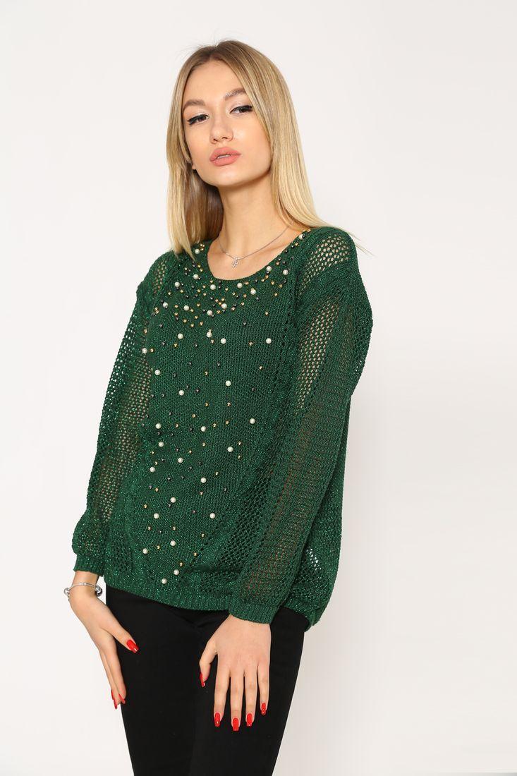 Свитер женский 103R413 цвет Зеленый