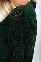 Свитер женский 103R413 цвет Зеленый, фото 2