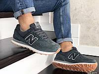 Кросівки чоловічі в стилі  New Balance 574  темно сірі ТОП якість