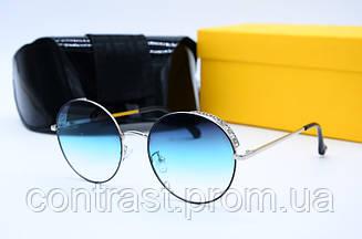 Солнцезащитные очки Fendi 2044 сталь зел