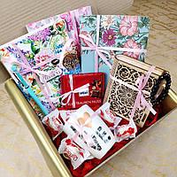 Подарочный набор c тремя блокнотами