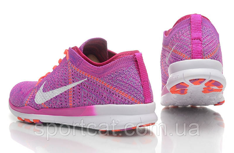 19f8d410 ... Женские кроссовки Nike Free Run Flyknit 5.0, фиолетовые Р. 36, фото 4