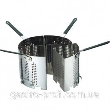 Корзина для варки макарон для кастрюль Ø300 мм комплект 4 шт. Stalgast 020320, фото 2